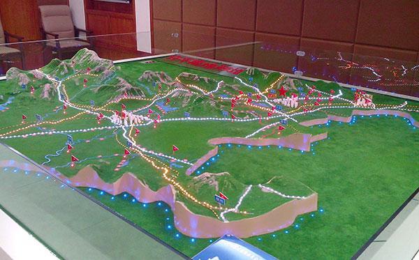 北京众艺达模型--地形地貌模型系列