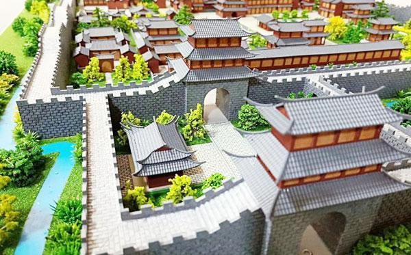 北京众艺达模型--古建复古模型