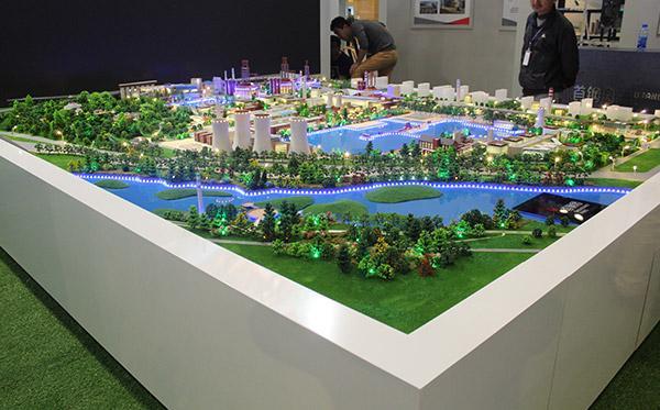 北京众艺达模型--厂区规划模型