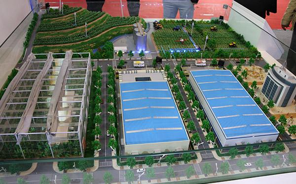 北京众艺达模型--智慧农业沙盘